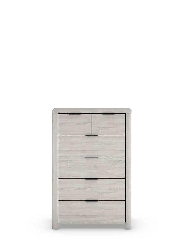 Cora 6 Drawer Chest M S, 6 Drawer Cabinet