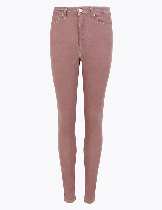 Corduroy Ankle Grazer Trousers