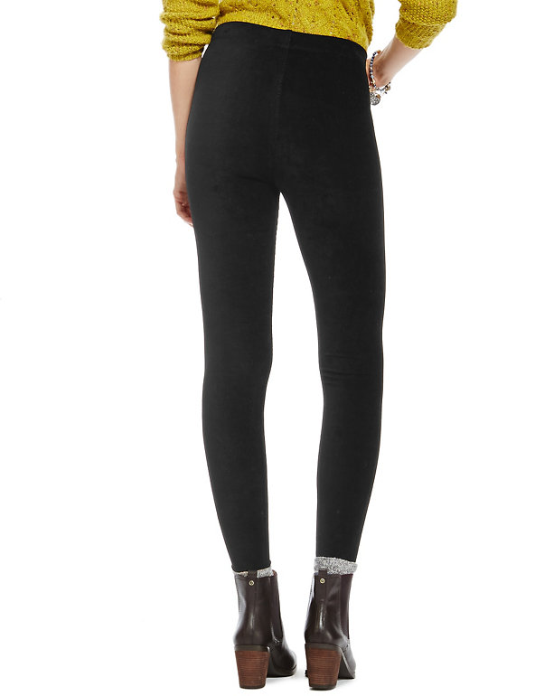 M/&S COLLECTION  Corduroy High Waisted Leggings