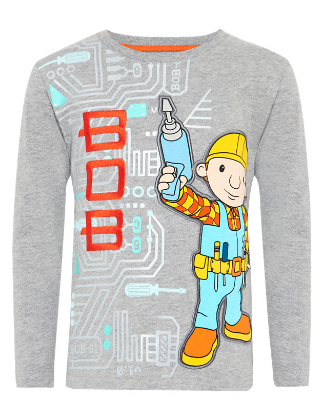 Bob the builder iron on T shirt transfer Choose image and size