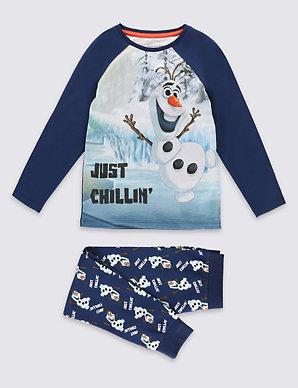 fa50d12c Cotton Rich Disney Frozen Olaf Pyjamas (1-6 Years)   M&S