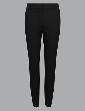 Pants Marks And Spencers Womens Grey Trousers New With Tags Uk Size 10 Beautiful In Colour