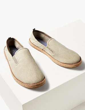 fe6c0b690 Cotton Slip-on Espadrilles | M&S Collection | M&S