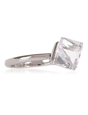 92009a3f9 Cube Ring MADE WITH SWAROVSKI® ELEMENTS | M&S Collection | M&S