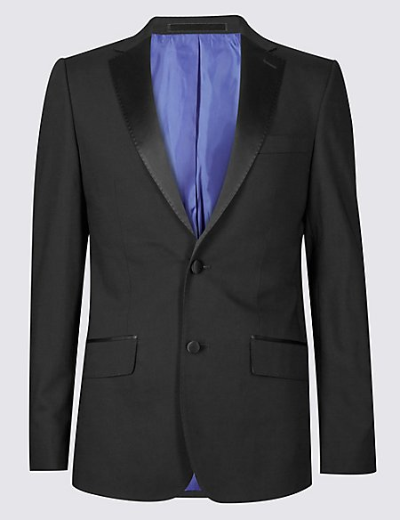 Black Slim Fit 3 Piece Tuxedo Suit