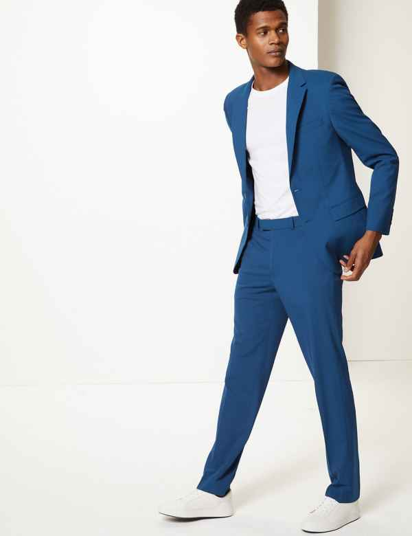 7cc3a52be21a Blue Slim Fit Suit
