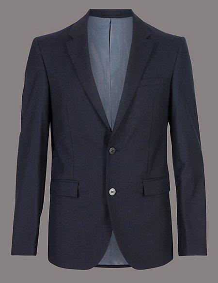Big & Tall Tailored Fit Italian Wool Suit