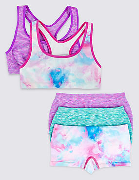 Seamfree Crop Top & Shorts Set