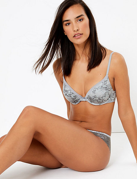 Sumptuously Soft™ Set with Plunge T-Shirt Bra A-DD