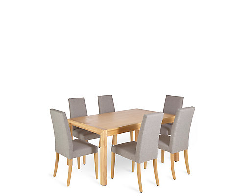 £799 for a Dining Table & 6 Chairs Bundle - save £547
