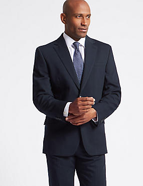 Navy Regular Fit Suit