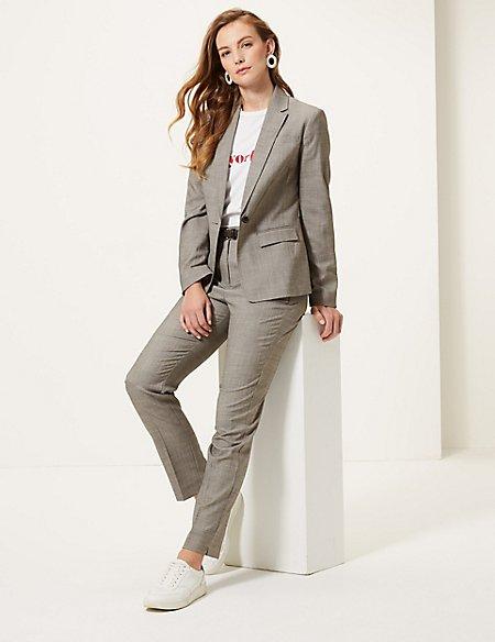 Blazer & Trousers Suit Set