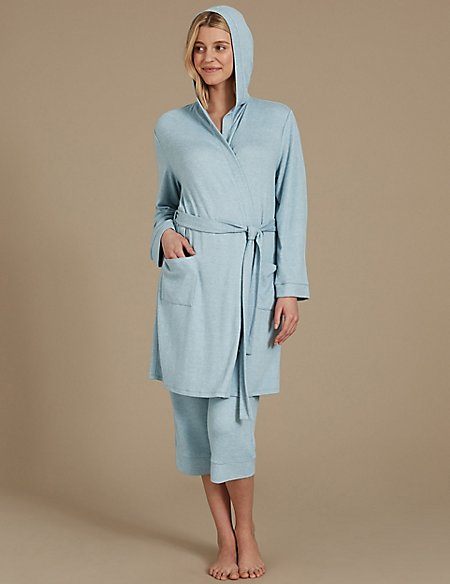 Dressing Gown Set with Pyjama Bottoms