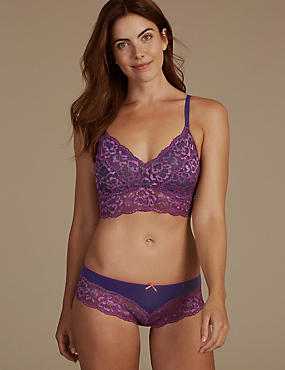 Lace Non-Padded Set with Bralet
