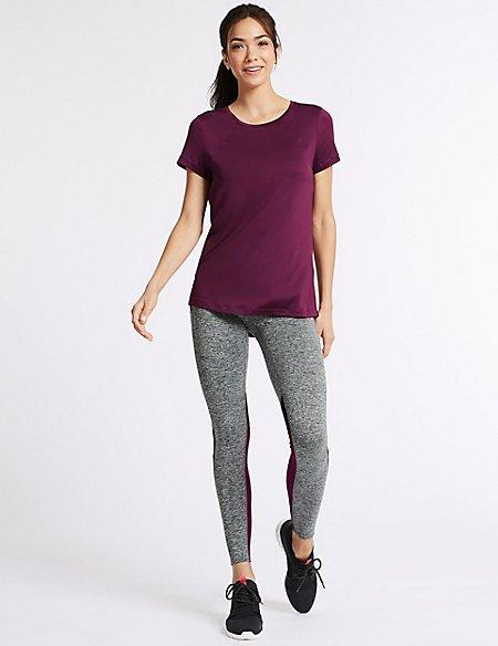 Short Sleeve Top & Leggings Outfit