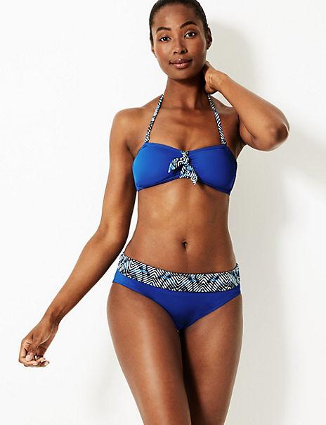 Non-Wired Bandeau Bikini Set