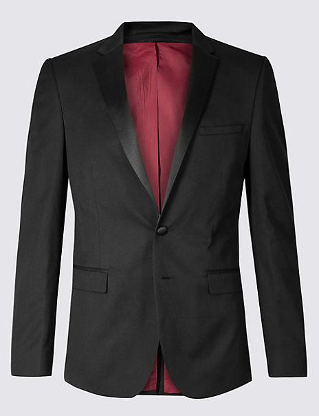 Black Skinny Fit Dinner Suit