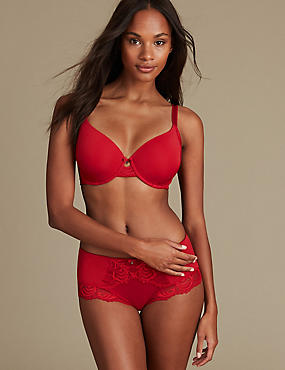 Sophia Lace Set with Memory Foam Underwired Full Cup A-E