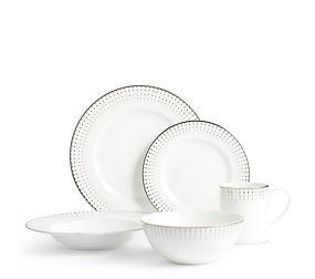 Platinum Decorated Dining Range