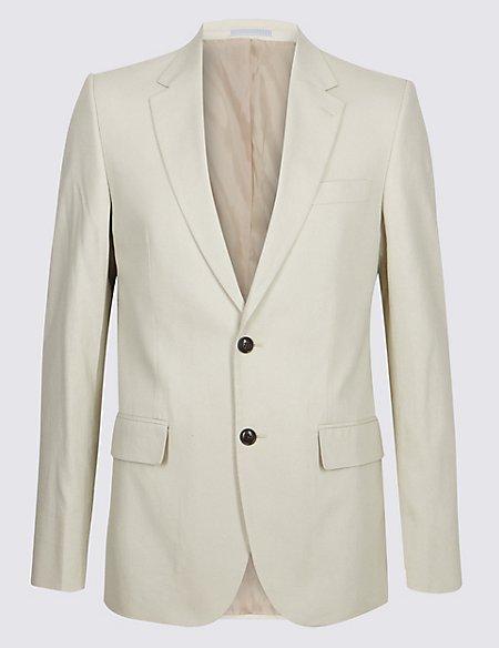 Big & Tall Beige Regular Fit Suit