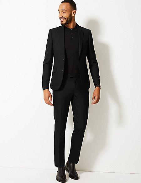 Black Modern Slim Fit Suit