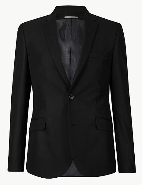 Black Skinny Fit Suit