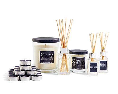 Egyptian Cotton Fragrance Range