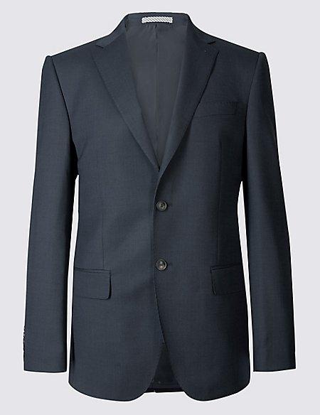 Big & Tall Indigo Regular Fit Suit
