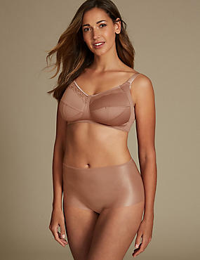 Lace Padded Set with Full Cup B-G