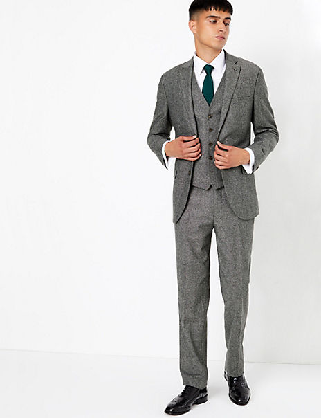Tailored Fit 3 Piece Suit
