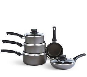 Non-Stick Grey Aluminium Pan Range