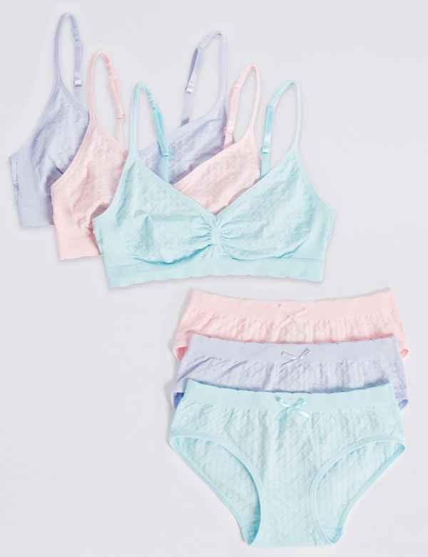 ae78077f59 Girls  Seamless Underwear