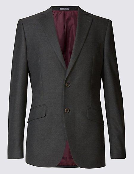 Charcoal Regular Fit Suit