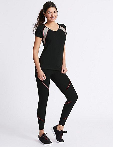 Active Cotton Rich T-Shirt & Leggings Outfit