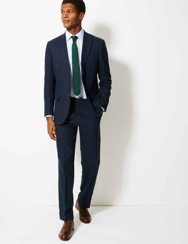 b201f0e7a909 Big   Tall Textured Regular Fit Suit