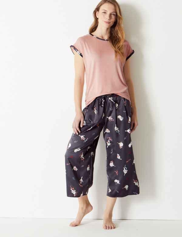 b9ea38a249 Printed Short Sleeve Pyjama Set