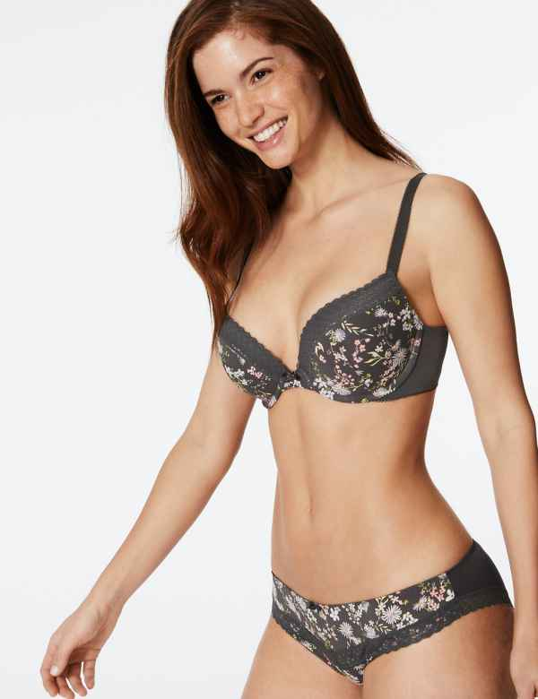 1d06f7850e 2 Pack Lace Set with Padded Push-Up A-DD
