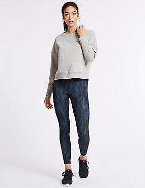 Long Sleeve Sweatshirt & Leggings Outfit