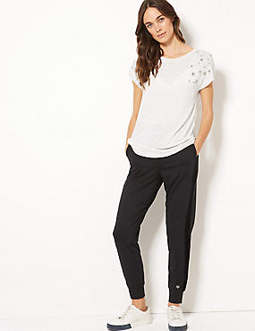 Short Sleeve Top & Jogger Outfit
