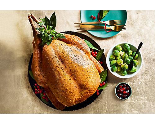 The Collection British Organic Freerange Pembrokeshire Bronze Turkey