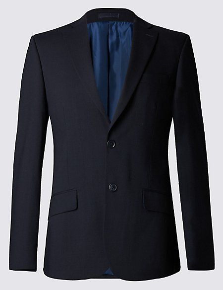 Big & Tall Navy Slim Fit Suit