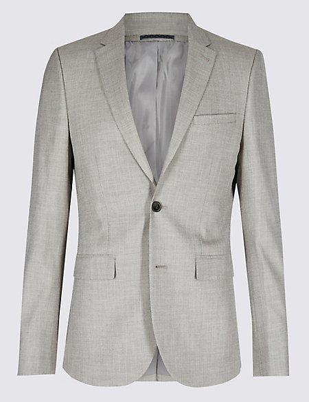 Textured Modern Slim Fit Suit