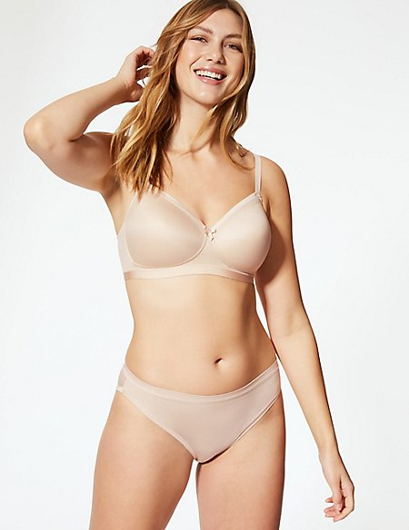 Sumptuously Soft Set with Full Cup T-Shirt AA-E