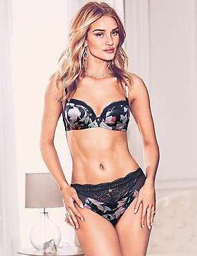 Silk & Lace Set with Non-Padded Balcony DD-G