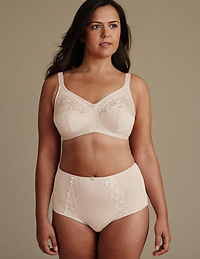 Post Surgery Set with Total Support Non-Wired Full Cup B-G