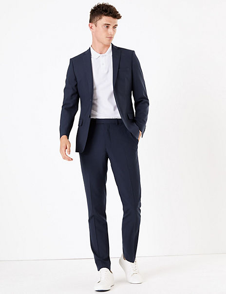 The Ultimate Big & Tall Navy Slim Fit Suit