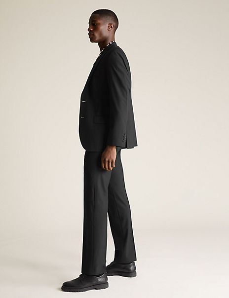 The Ultimate Black Regular Fit Suit