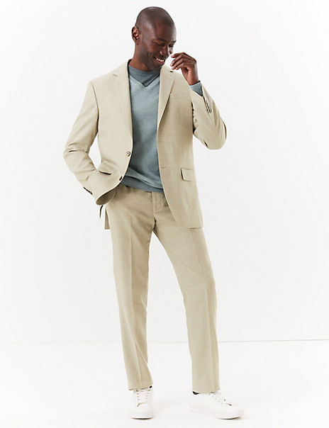 Regular Fit Italian Linen Miracle™ Suit