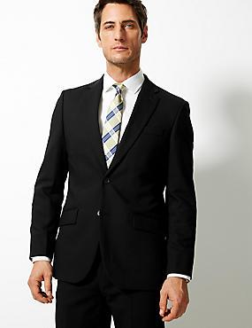 Černý oblek klasického střihu ... 0d469dcf74