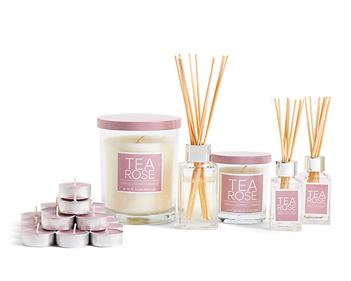 Tea Rose Fragrance Range